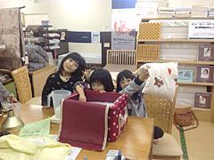 家族みんな専用まくら!ちびっこ枕手作り体験
